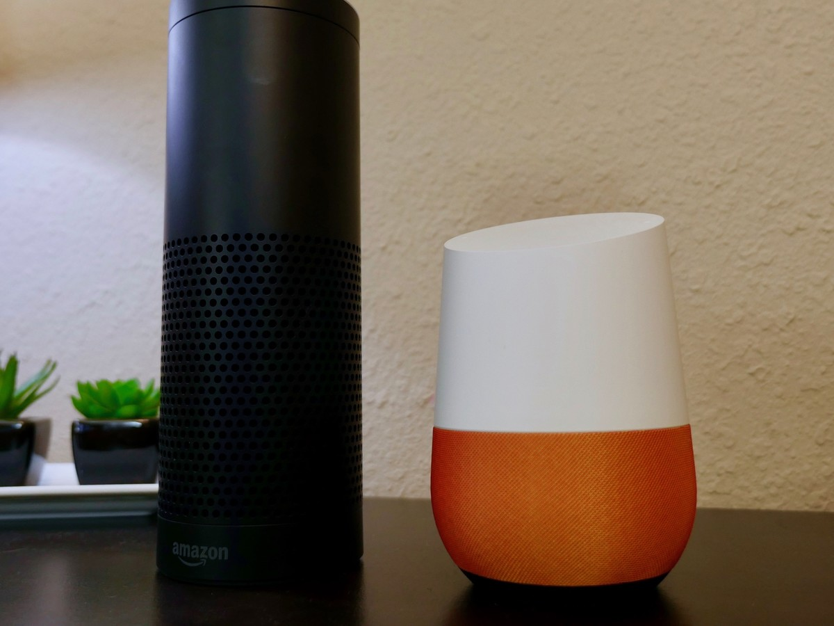 amazon echo vs google home which works best with your apple products imore real world it. Black Bedroom Furniture Sets. Home Design Ideas