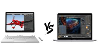MacBook Pro 2018 vs Surface Book 2